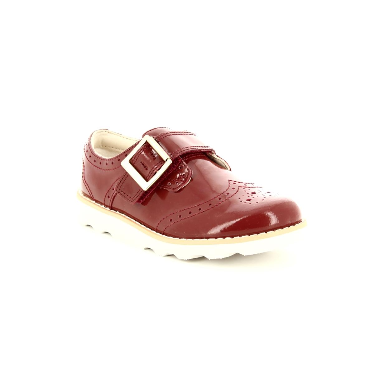 c31bdad7566 Clarks First Shoes - Orange patent - 3578/36F CROWN PRIDE FS
