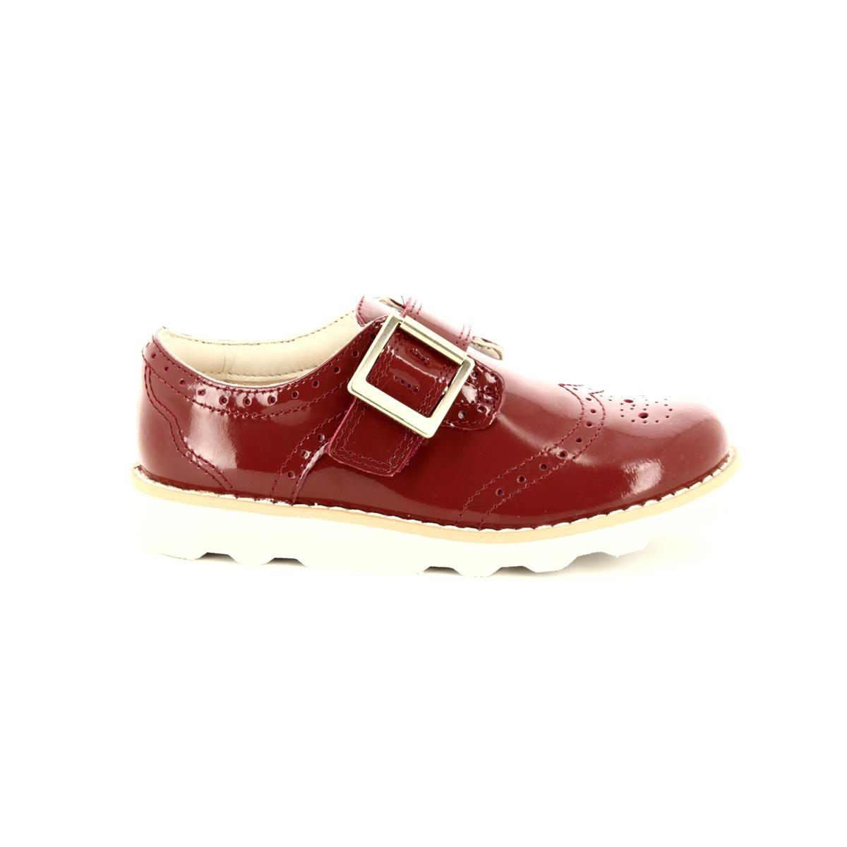 95d09f5e976 Clarks First Shoes - Orange patent - 3578 36F CROWN PRIDE FS