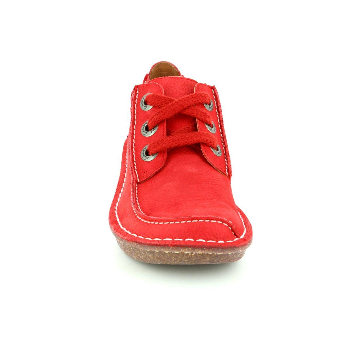 7cabdeda2bdb Clarks Lacing Shoes - Red - 1398 54D FUNNY DREAM