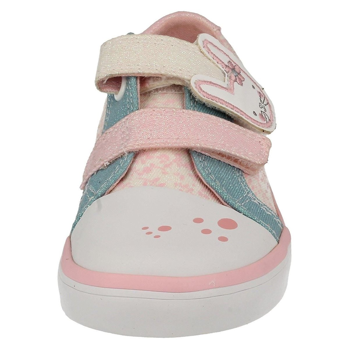 d8dbab33281c Clarks Trainers - Off white multi - 1502 57G GRACIE BEA INF