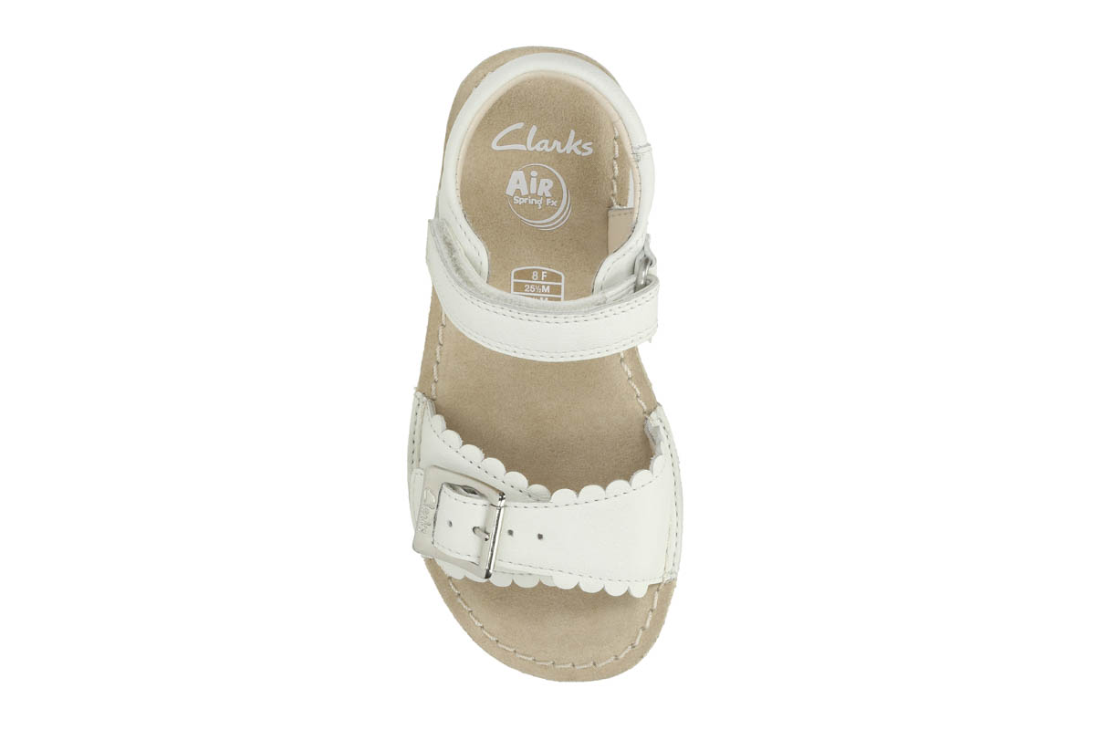 024bf1072723 Clarks Sandals - White - 2368 76F IVY BLOSSOM IN