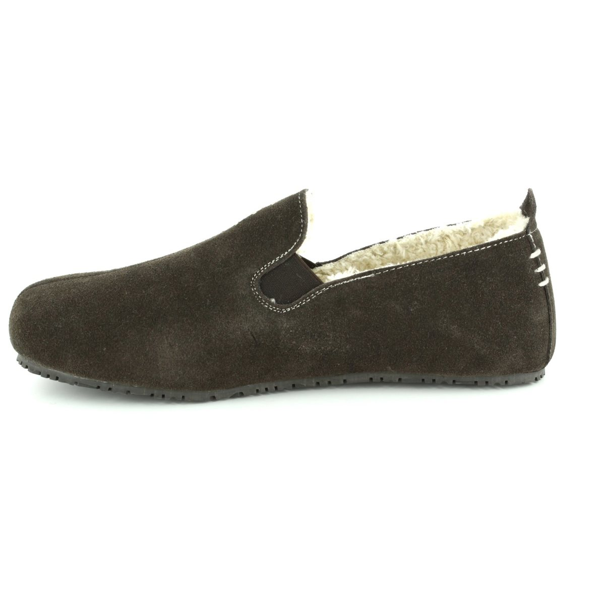 77844e0095d Clarks Kite Falcon G Fit Brown suede mens slippers online