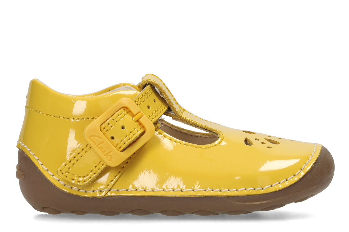 88be596446e Clarks First Shoes - Yellow - 3211 36F LITTLE WEAVE