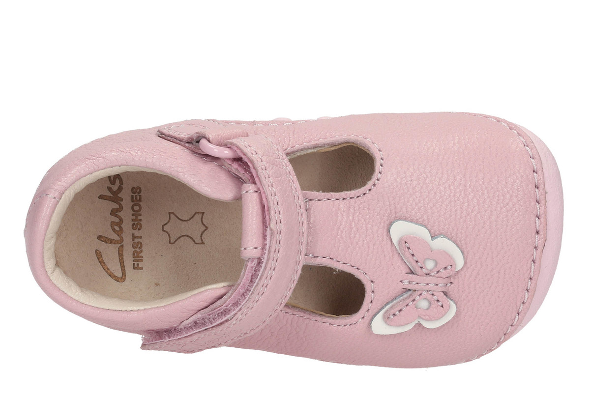 1a84d28f3f68d Clarks First Shoes - Pale pink - 2348 78H LITTLE WOW