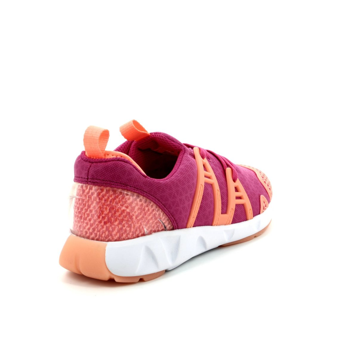 522ec8317dd395 Clarks Trainers - Pink multi - 3005 36F LUMINOUS GLO