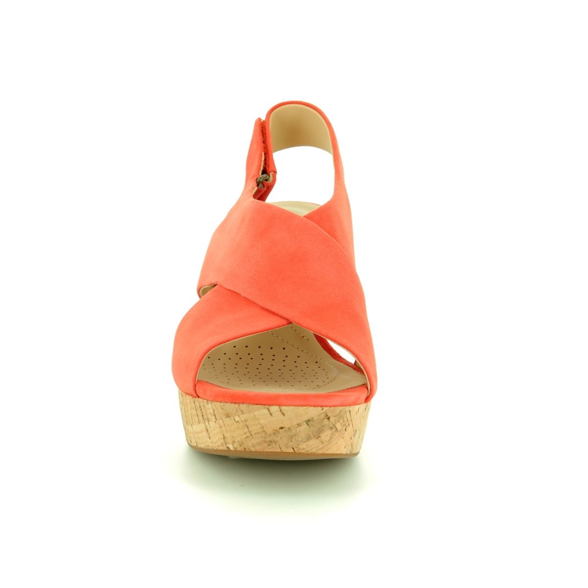 eca5506376efc9 Clarks Wedge Sandals - Orange - 421594D MARITSA LARA