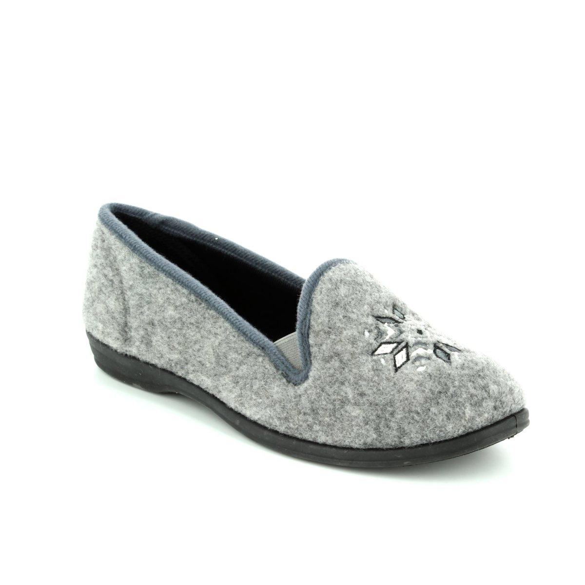 79061e07527 Clarks Slippers - Grey - 3041 74D MARSHA ROSE