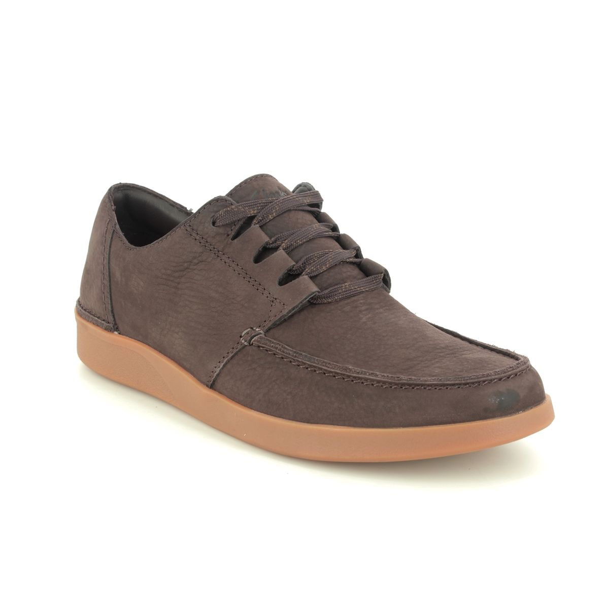 Clarks Oakland Walk G Fit Brown casual