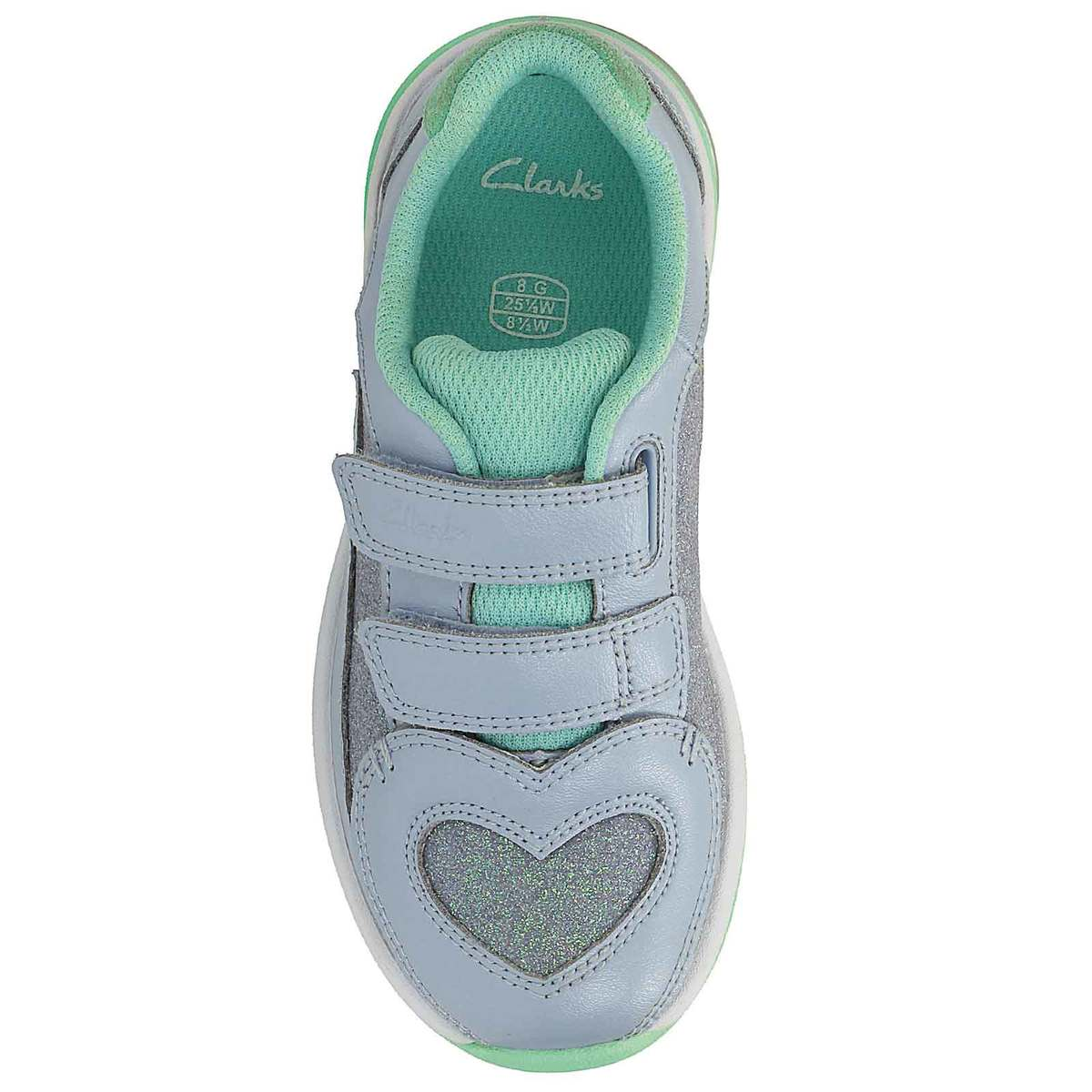 dd4844beb4e697 Clarks Trainers - Blue multi - 2340 06F PIPER CHAT INF