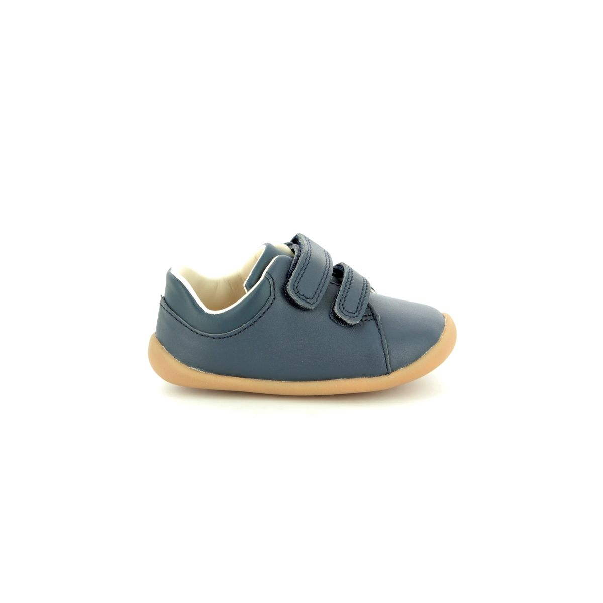 207a3b8863eda Clarks First Shoes - Navy leather - 422867G ROAMER CRAFT T