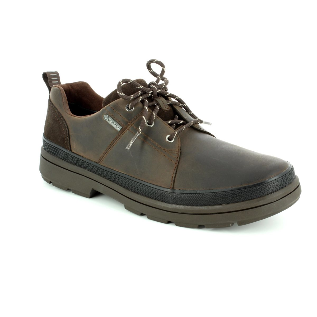 8abc22a210e Clarks Casual Shoes - Dark brown - 2834 97G RUSHWAY LACE GORE-TEX