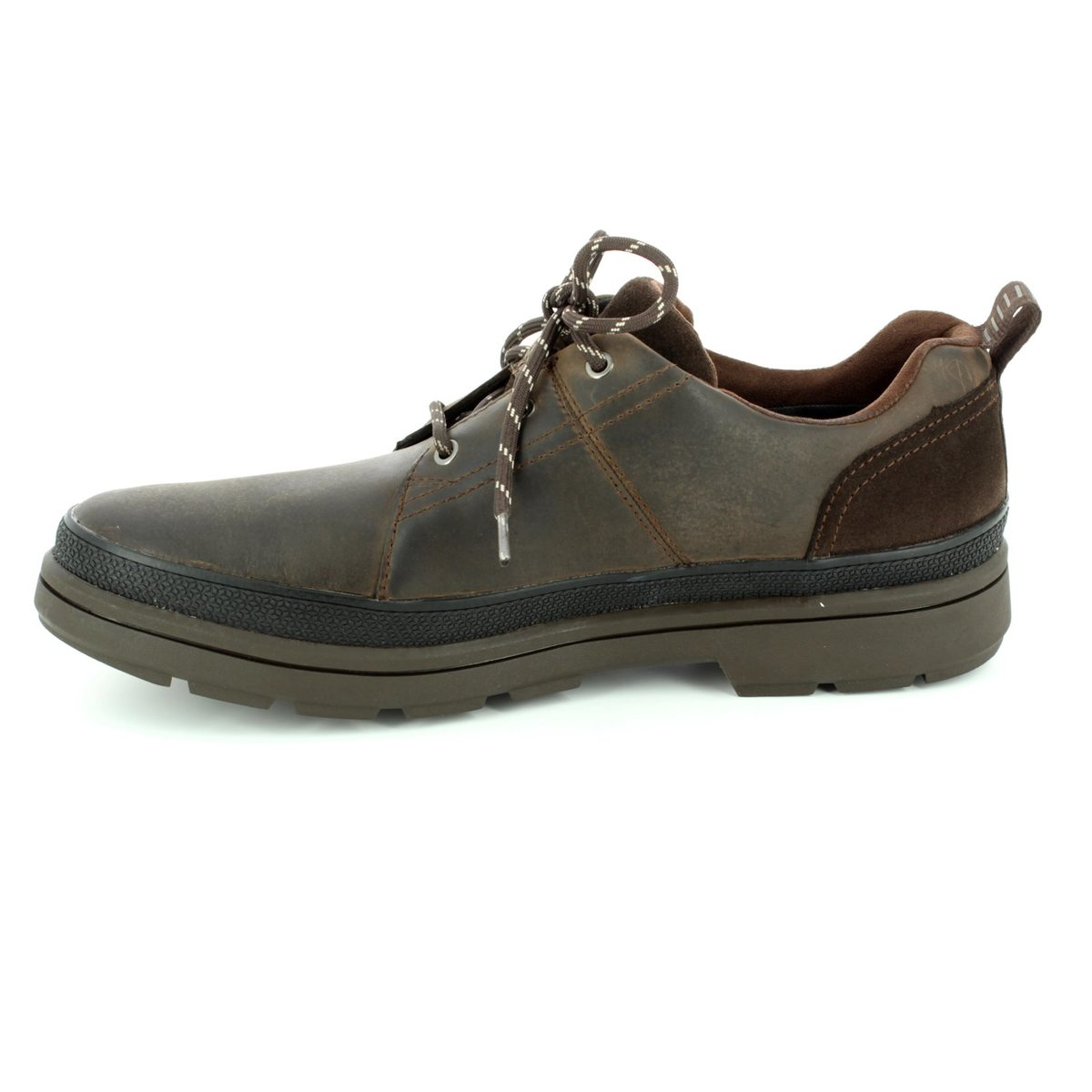 Clarks Casual Shoes - Dark brown - 2834/97G RUSHWAY LACE GORE-TEX