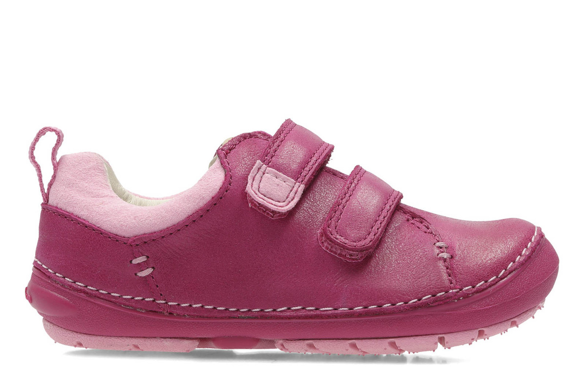 Clarks 2460-67G Little MIA Pink Kids First Shoes