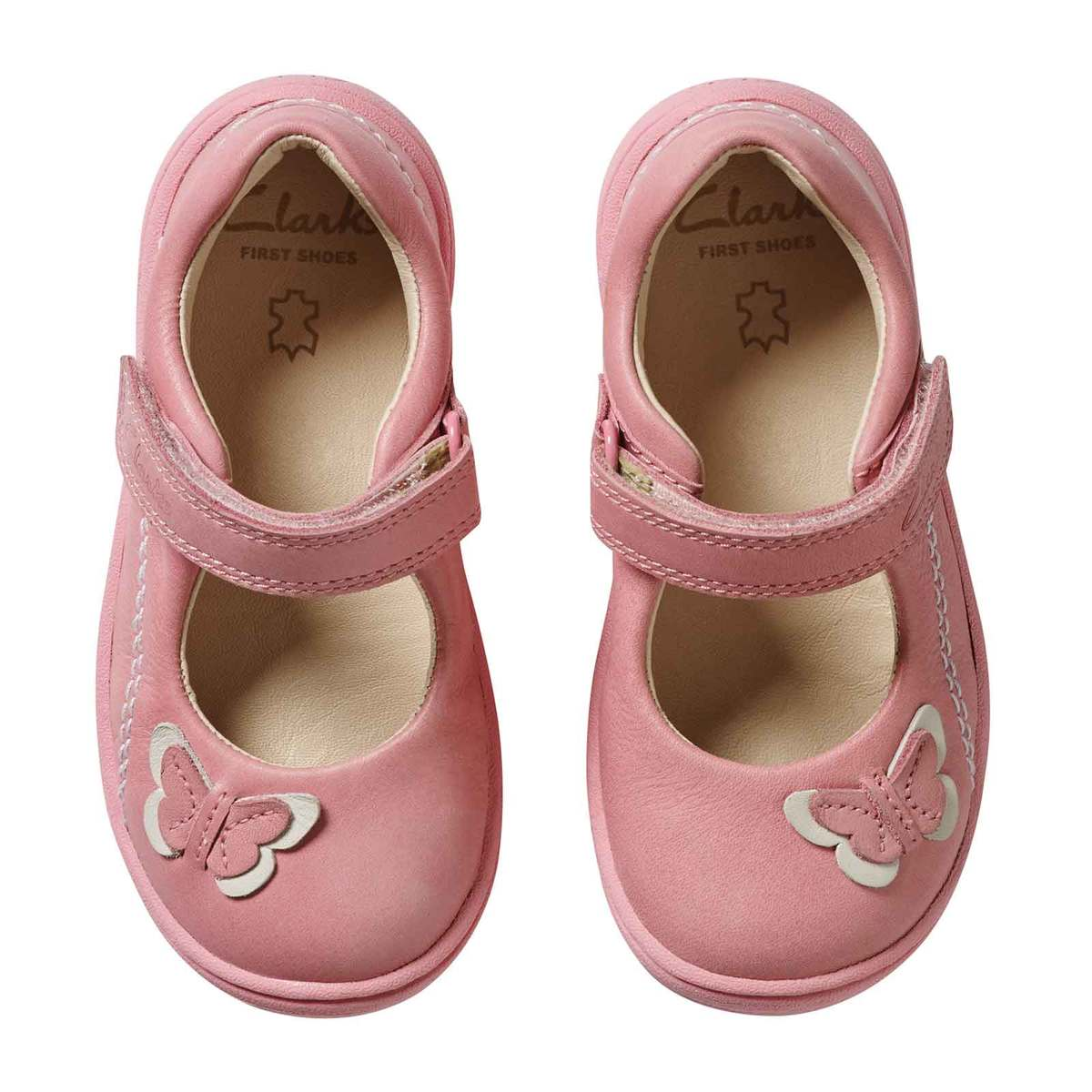 clarks first shoes girl