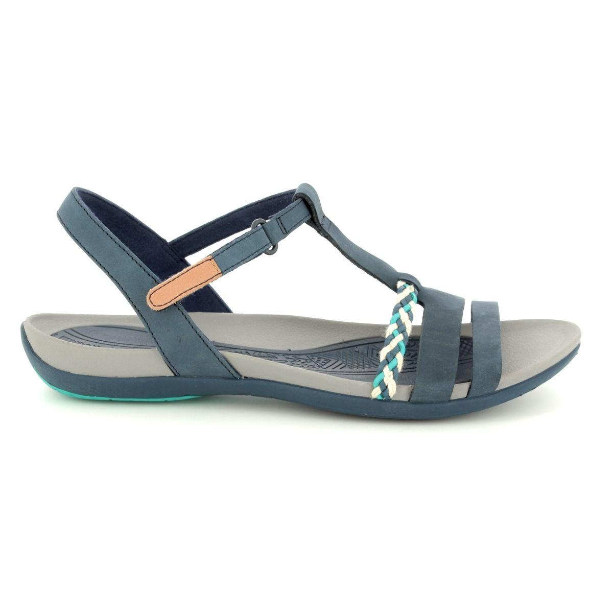 87798482725f Clarks Sandals - Navy - 2389 44D TEALITE GRACE