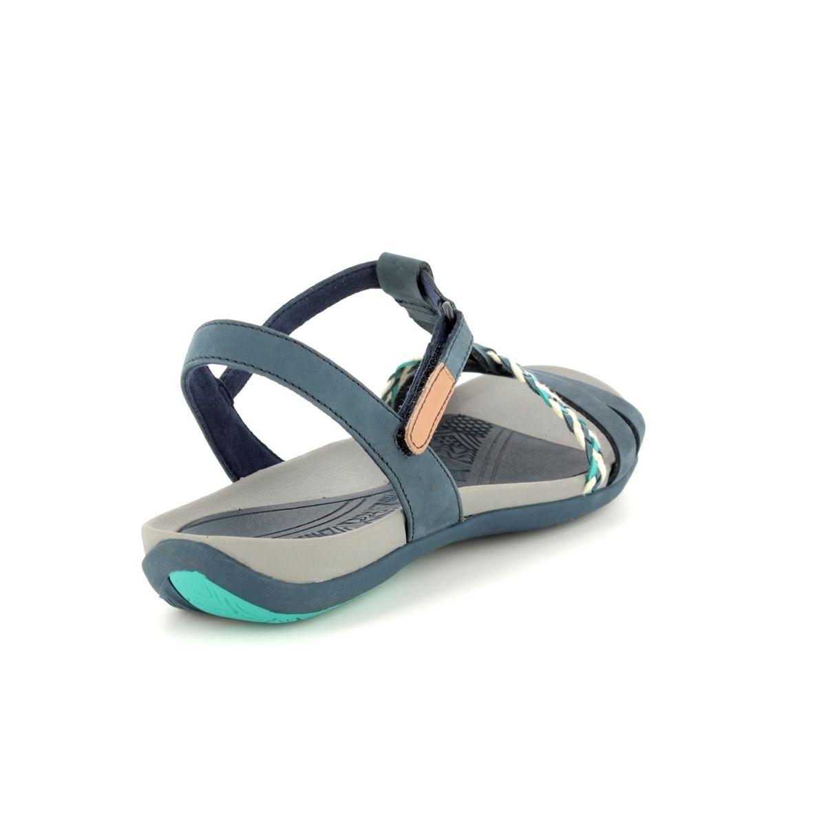 8e86c2f8e20 Clarks Sandals - Navy - 2389 44D TEALITE GRACE