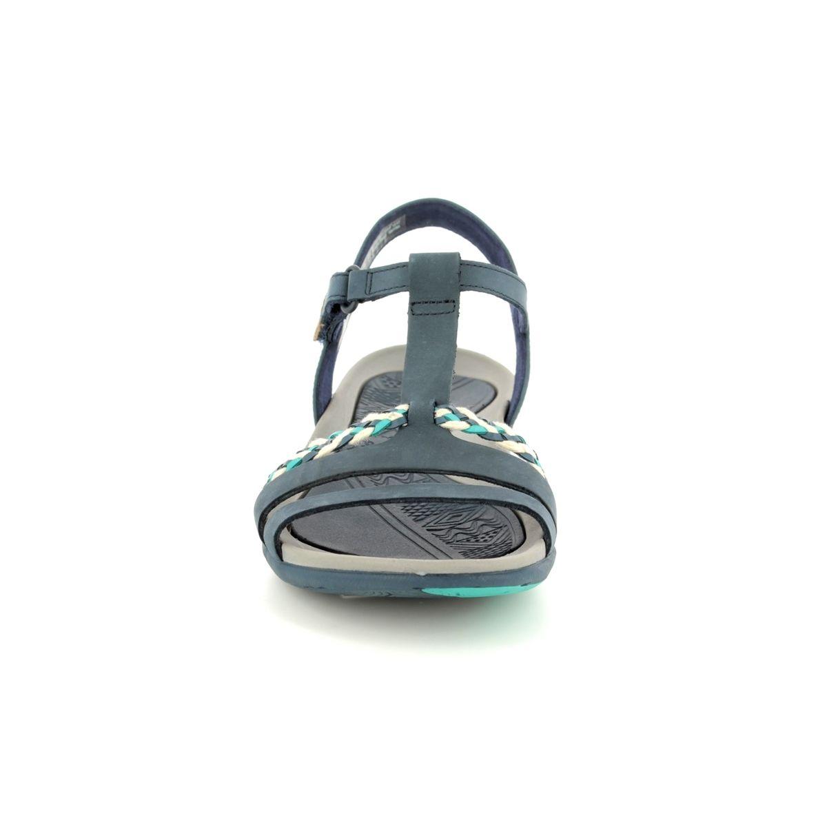 4e745cc6a6e2 Clarks Sandals - Navy - 2389 44D TEALITE GRACE
