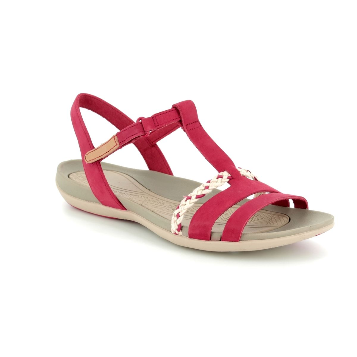 81da1caa3b13 Clarks Sandals - Red - 2389 24D TEALITE GRACE