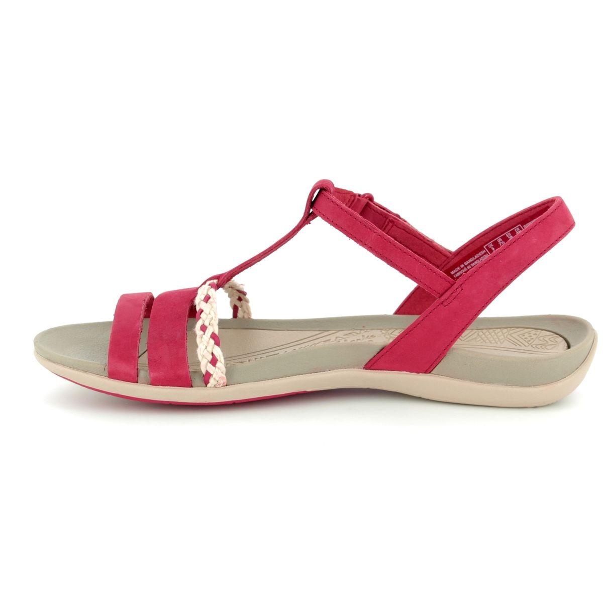 d00e74329687 Clarks Sandals - Red - 2389 24D TEALITE GRACE