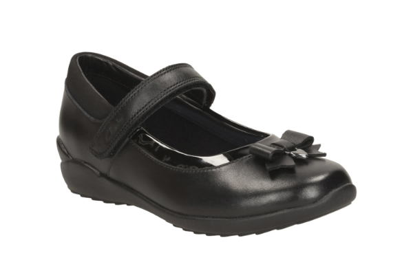 41cc37f99011 Clarks School Shoes - Black - 1889 17G TING FEVER INF