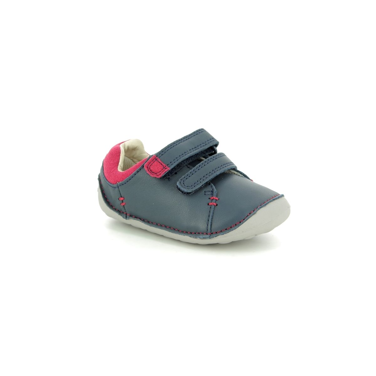 Clarks First Shoes - Navy - 2750 58H TINY TOBY 4b1768657