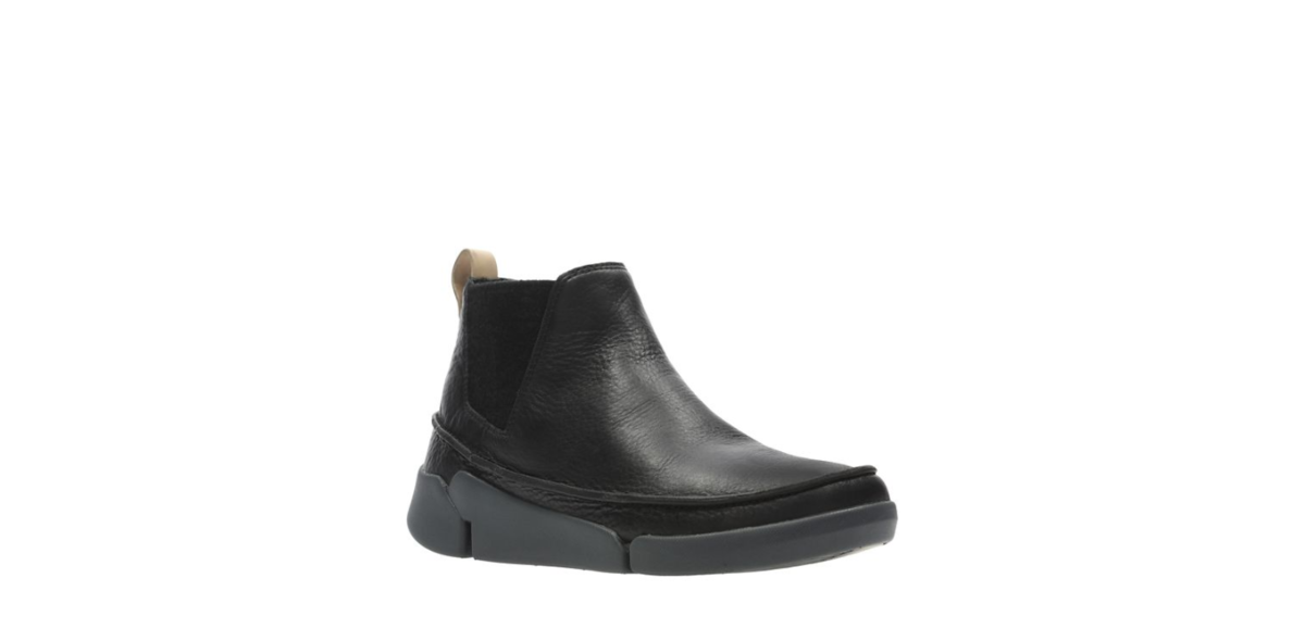 8e660d5277 Clarks Chelsea Boots - Black leather - 3533 64D TRI POPPY