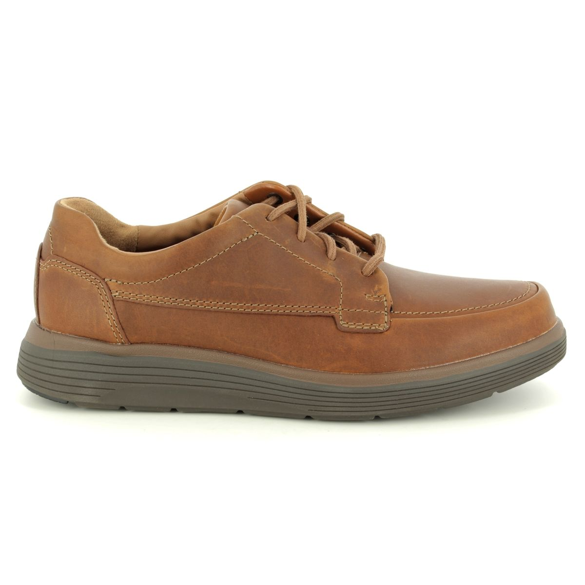 0adc78e81f3 Clarks Casual Shoes - Tan Leather - 3698 28H UN ABODE EASE