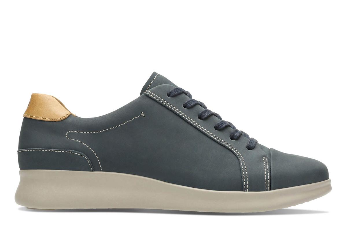 e03384cb7f25 Clarks Lacing Shoes - Denim - 2957 84D UN FLARE