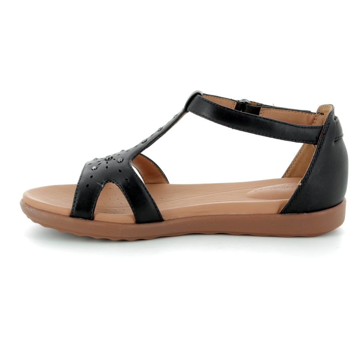 8b5904898889 Clarks Sandals - Black - 3325 84D UN REISEL MARA