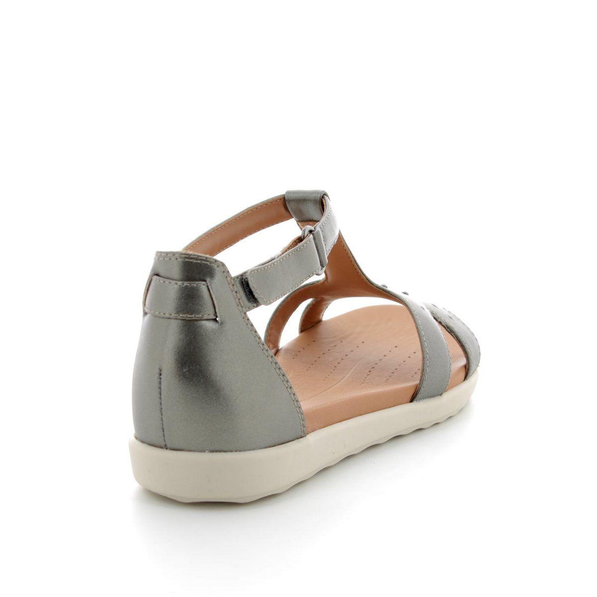 674761516af3 Clarks Sandals - Pewter - 3324 34D UN REISEL MARA