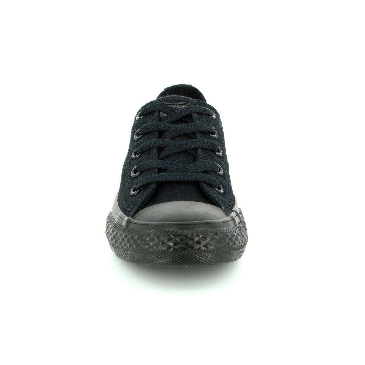 7be39df5b40b Converse Trainers - Black - 314786C All Star Ox Black Monochrome