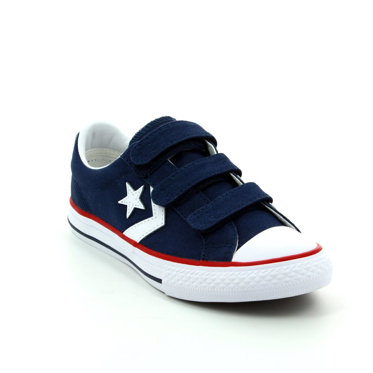 a1671a7c7b4383 Converse Trainers - Navy - 315467 412 Star Player 3V OX Velcro