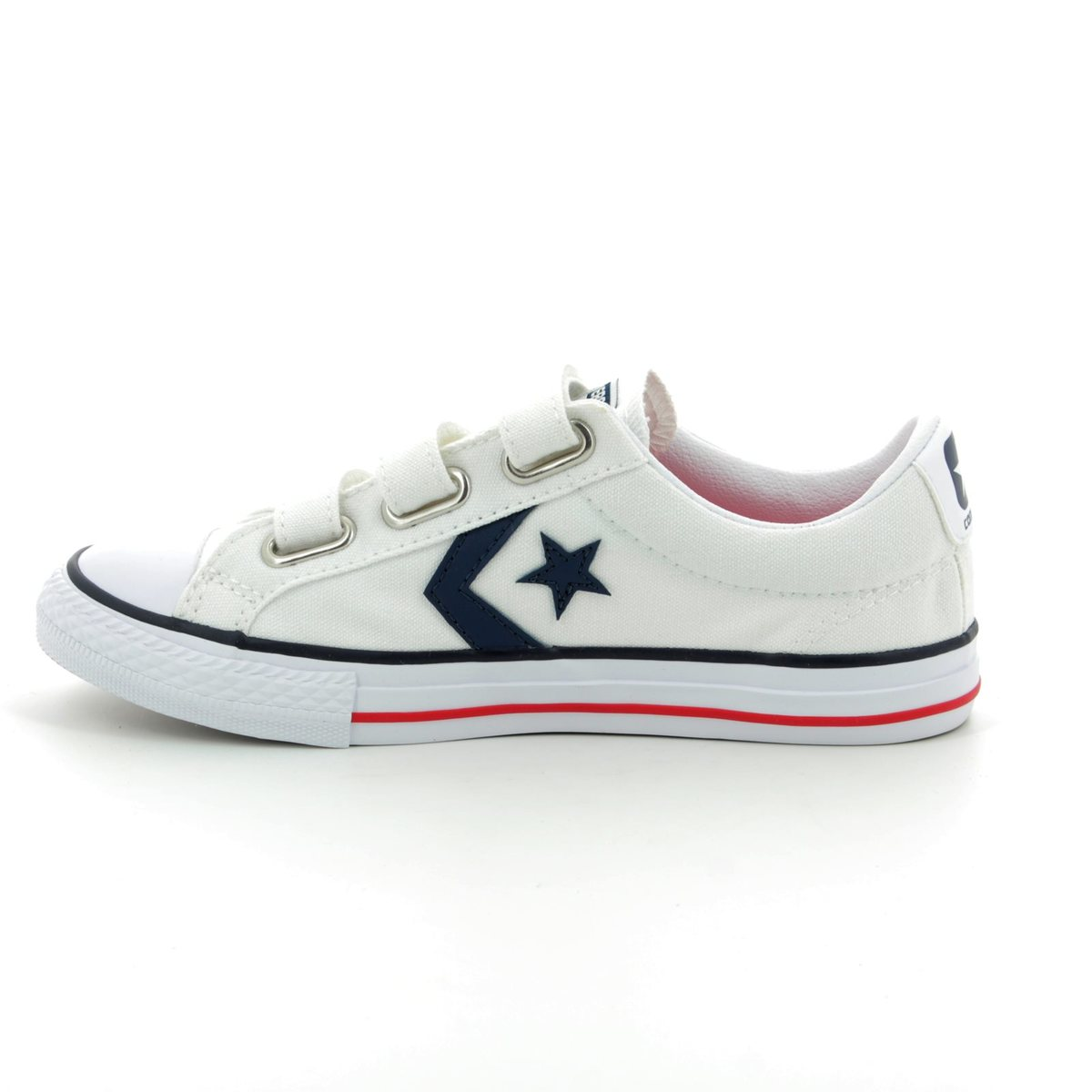 bd799b55087 Converse Trainers - White multi - 315660 194 Star Player 3V OX Velcro