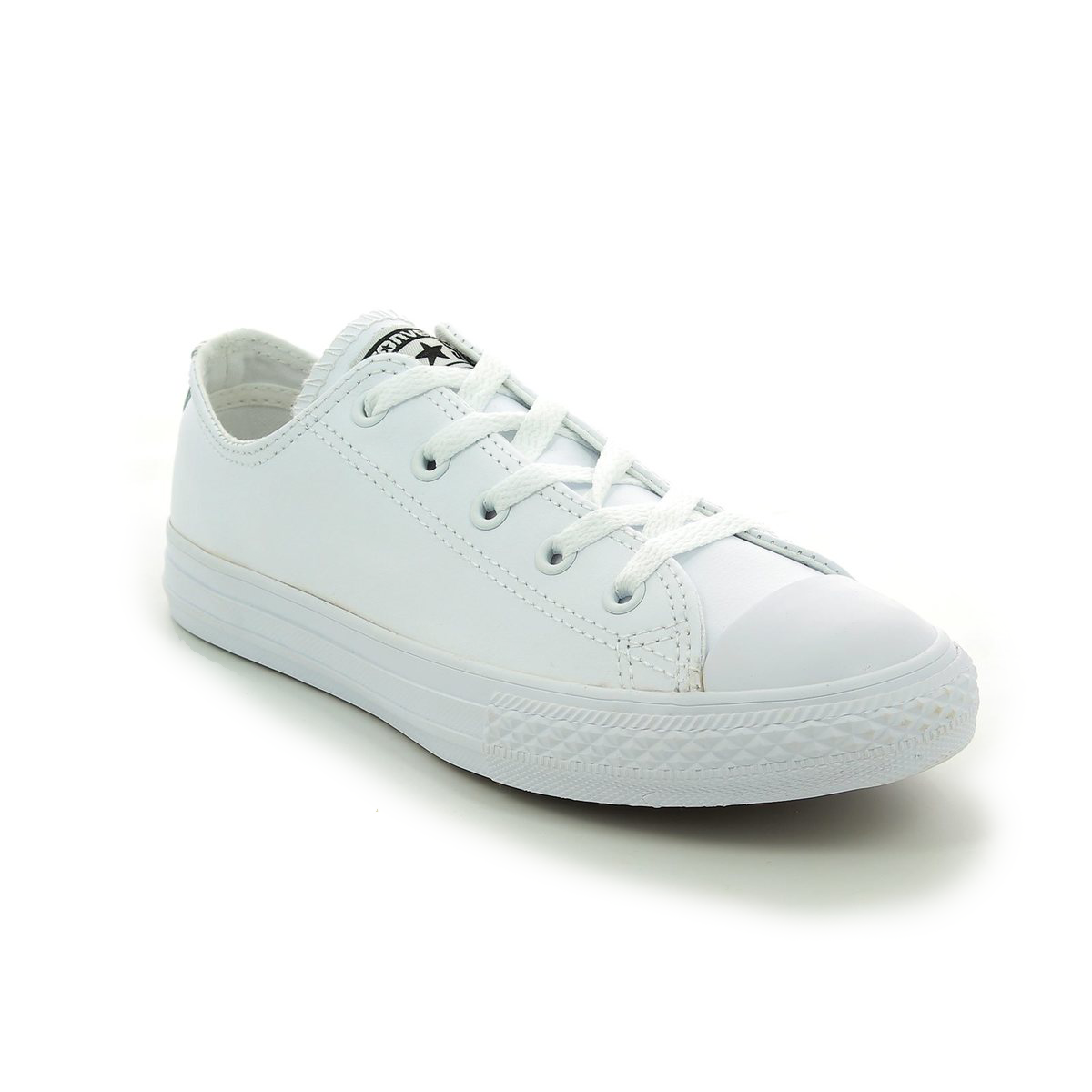6bba14d556c Converse Trainers - White - 335891C Chuck Taylor All Star OX Mono Leather
