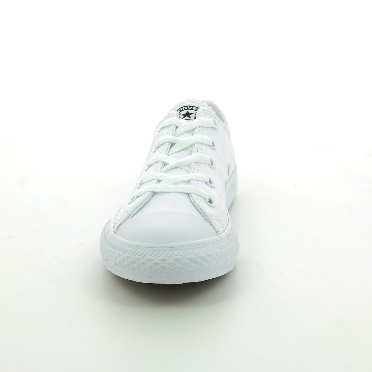 a83968548df9 Converse Trainers - White - 335891C Chuck Taylor All Star OX Mono Leather
