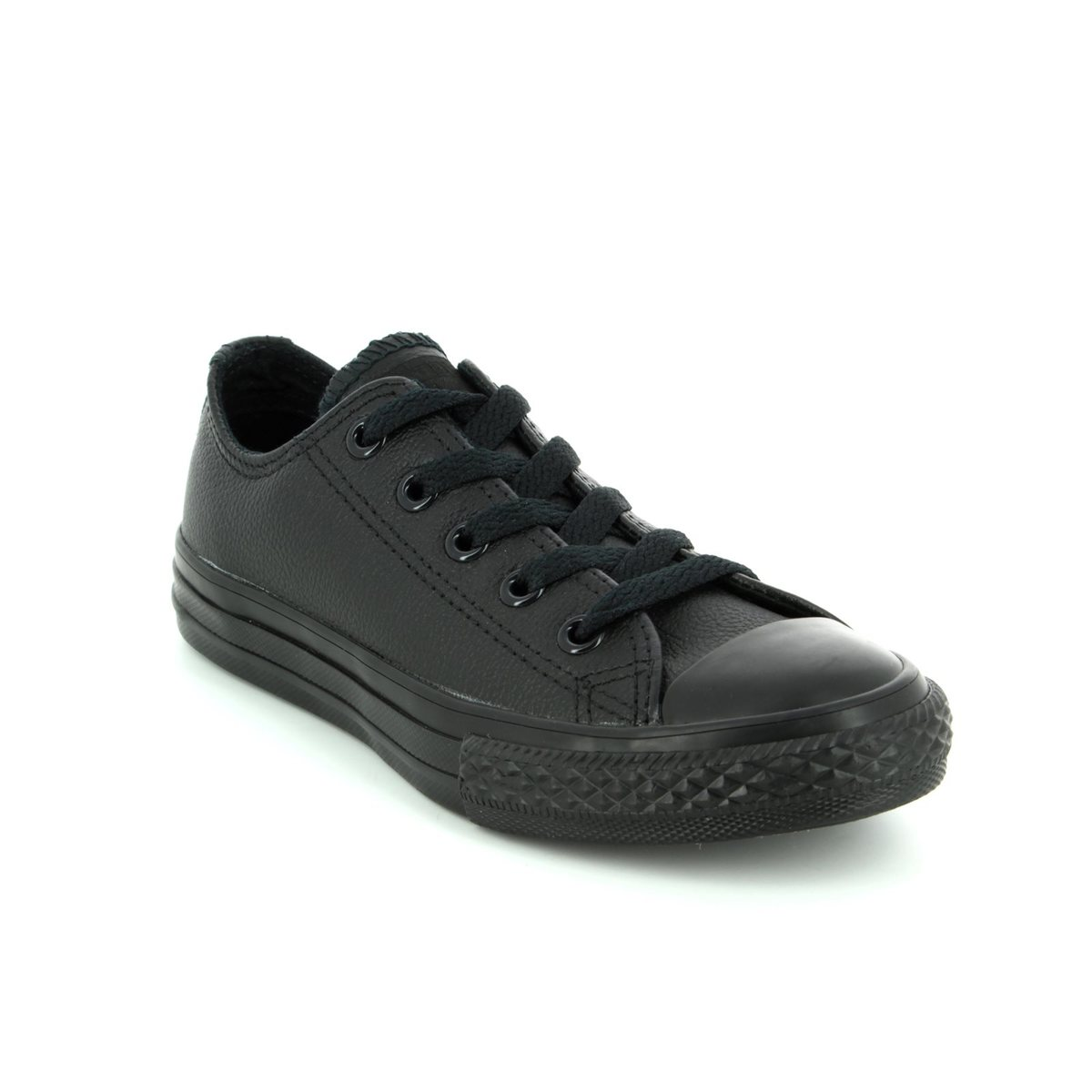 Converse Trainers - Black - 343913C Chuck Taylor Allstar OX Mono Leather