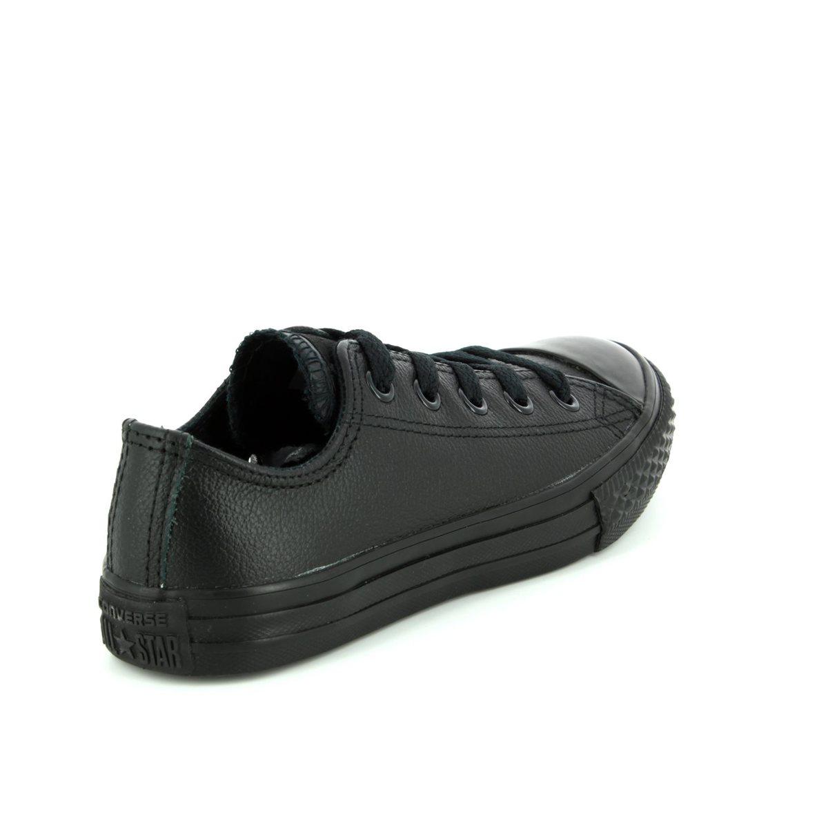 7d6f45a96859 Converse Trainers - Black - 343913C Chuck Taylor Allstar OX Mono Leather