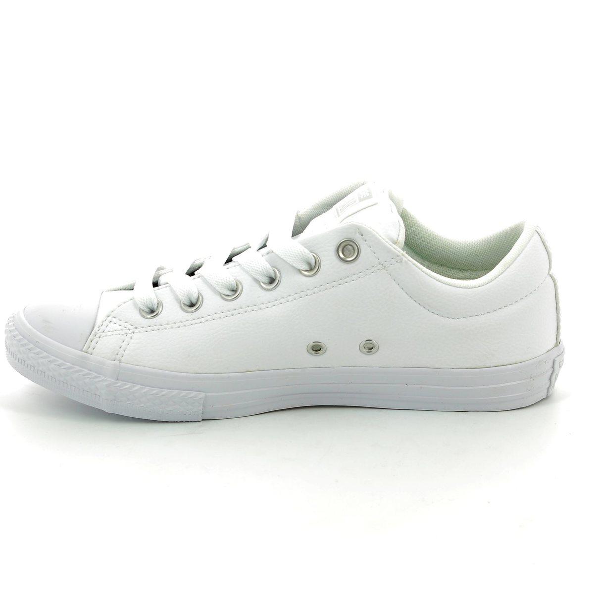 d43df3d4e6dfdb Converse Trainers - White - 651782C Chuck Taylor All Star Street Slip