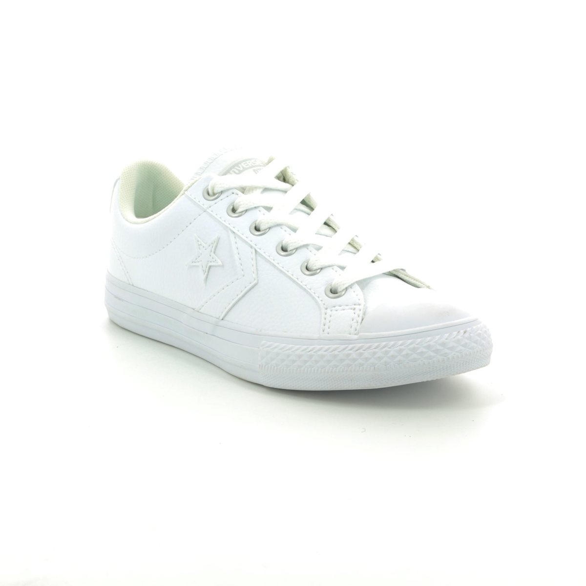 627be05a6e81 Converse Trainers - White - 651827C 100 Star Player EV OX White