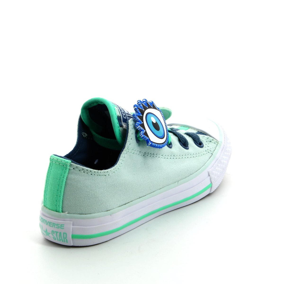 28fcbc63c167 Converse Trainers - Green multi - 656043C Chuck Taylor All Star Loopholes OX