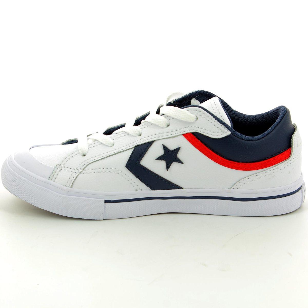 82793117e6d0 Converse Trainers - White multi - 656103C Pro Blaze OX White