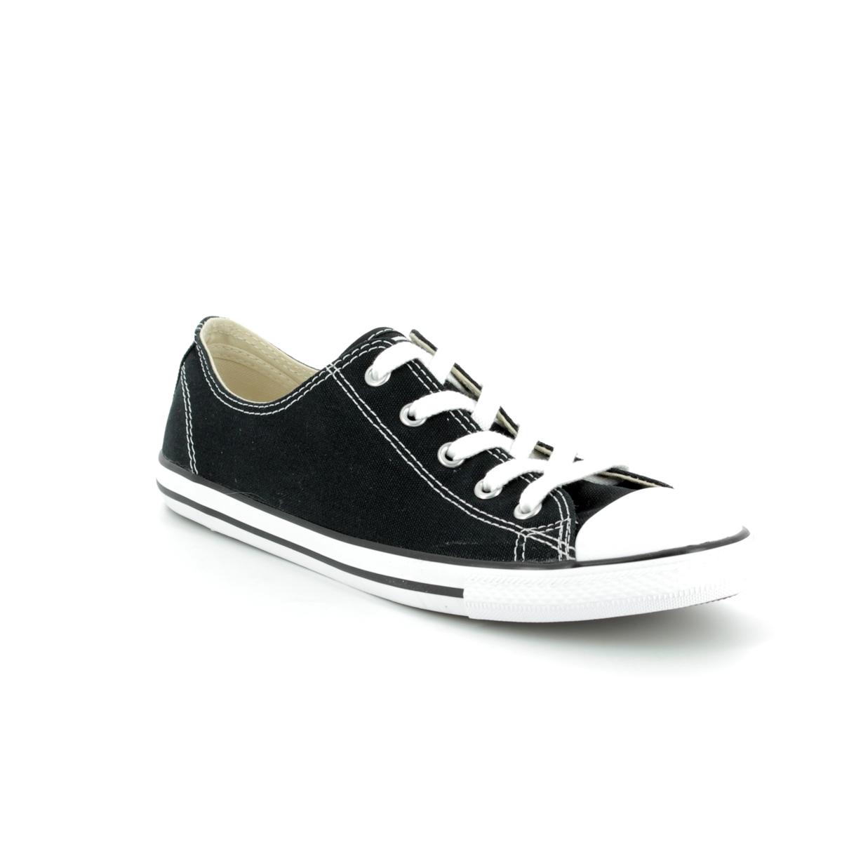 93001ba38f2e Converse Trainers - Black - 530054C ALL STAR DAINTY OX