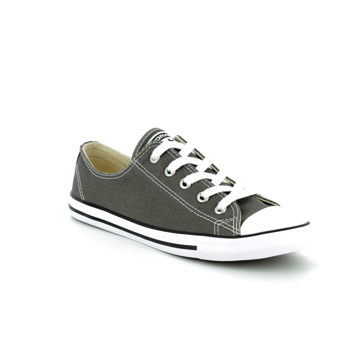 ce2a38537385 Converse Trainers - Charcoal - 532353C All Star DAINTY OX