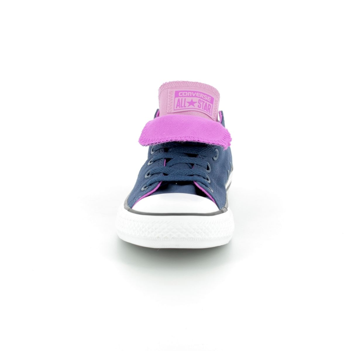 4c9056da6004 Converse Trainers - Navy multi - 660001C All Star Double Tongue