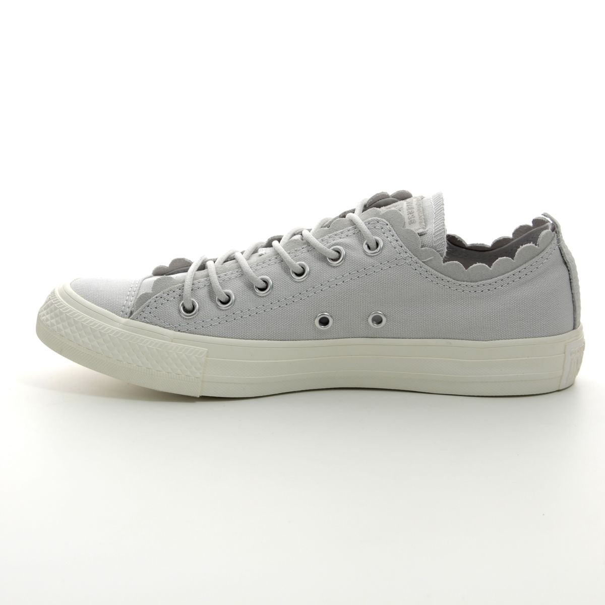 21d51f4f14bd Converse Trainers - Light Grey - 564112C ALL STAR FRILLS