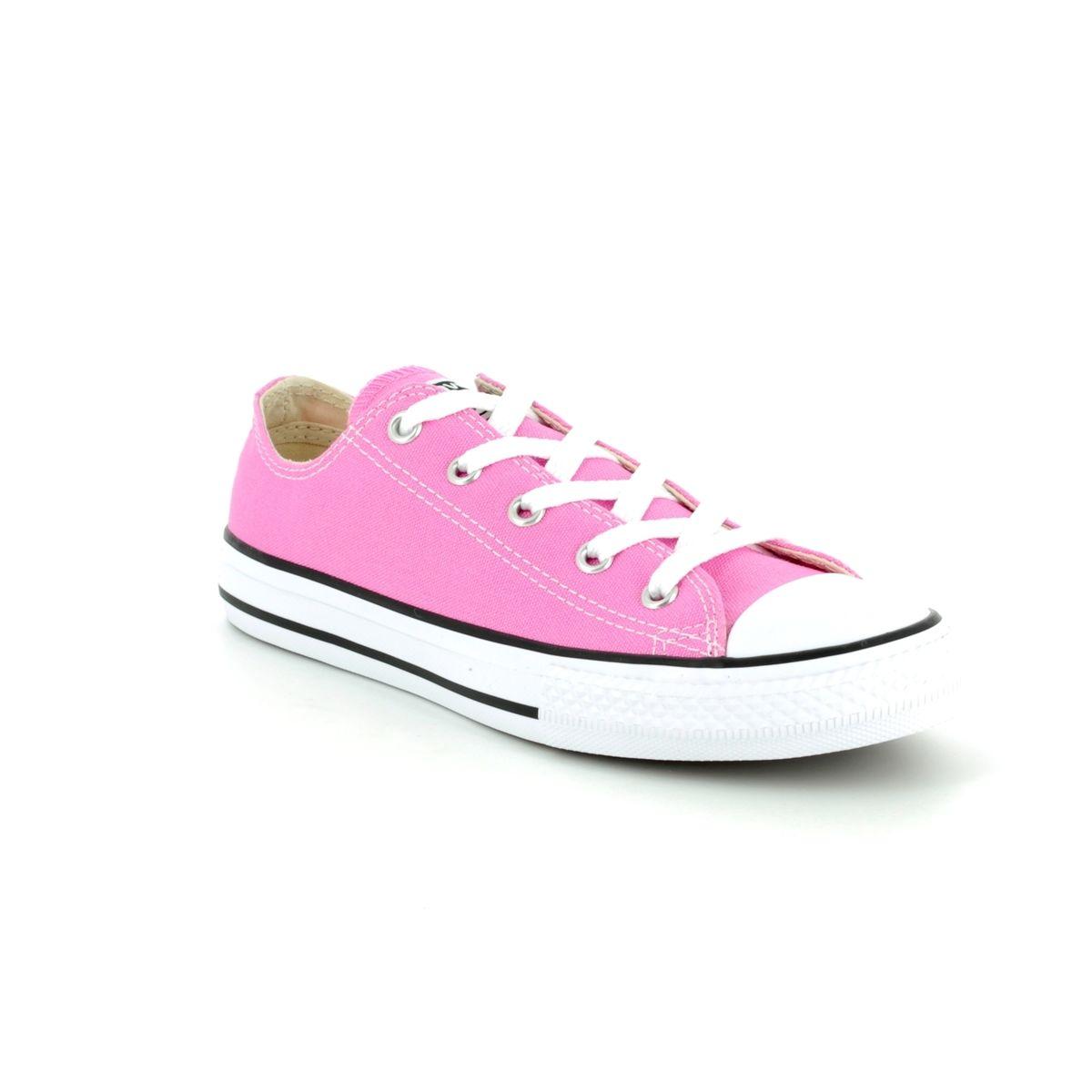 a9294ffa8b0 Converse All Star Ox Junior 3J238C Pink Girls Trainers