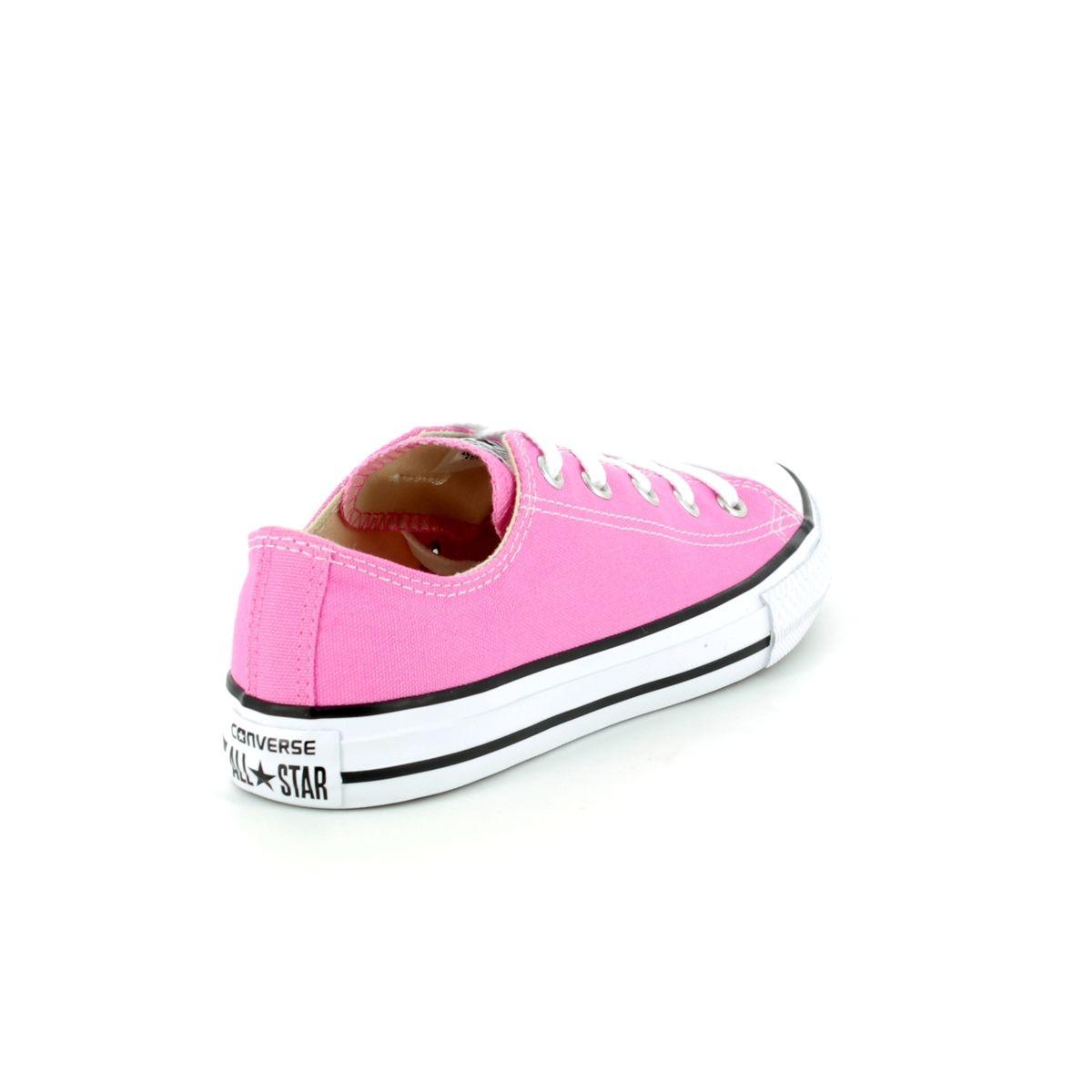 Converse All Star Ox Junior 3J238C Pink Girls Trainers 4e22f9f339db3