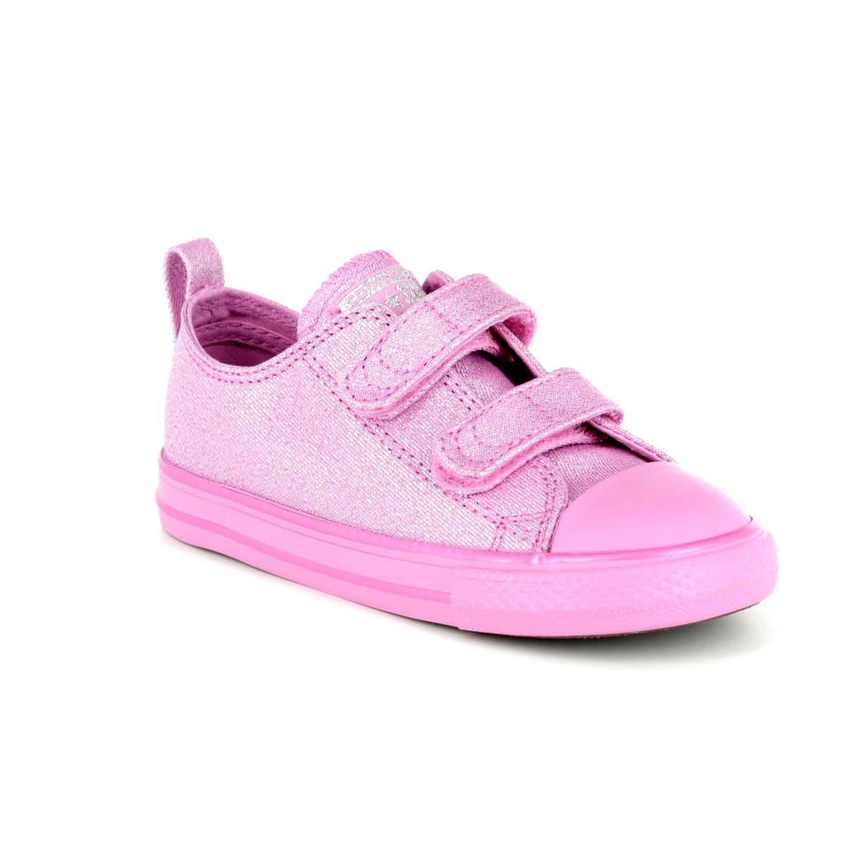 a7835cd58a18 Converse Trainers - Pink multi - 760061C ALL STAR OX VELCRO 2V