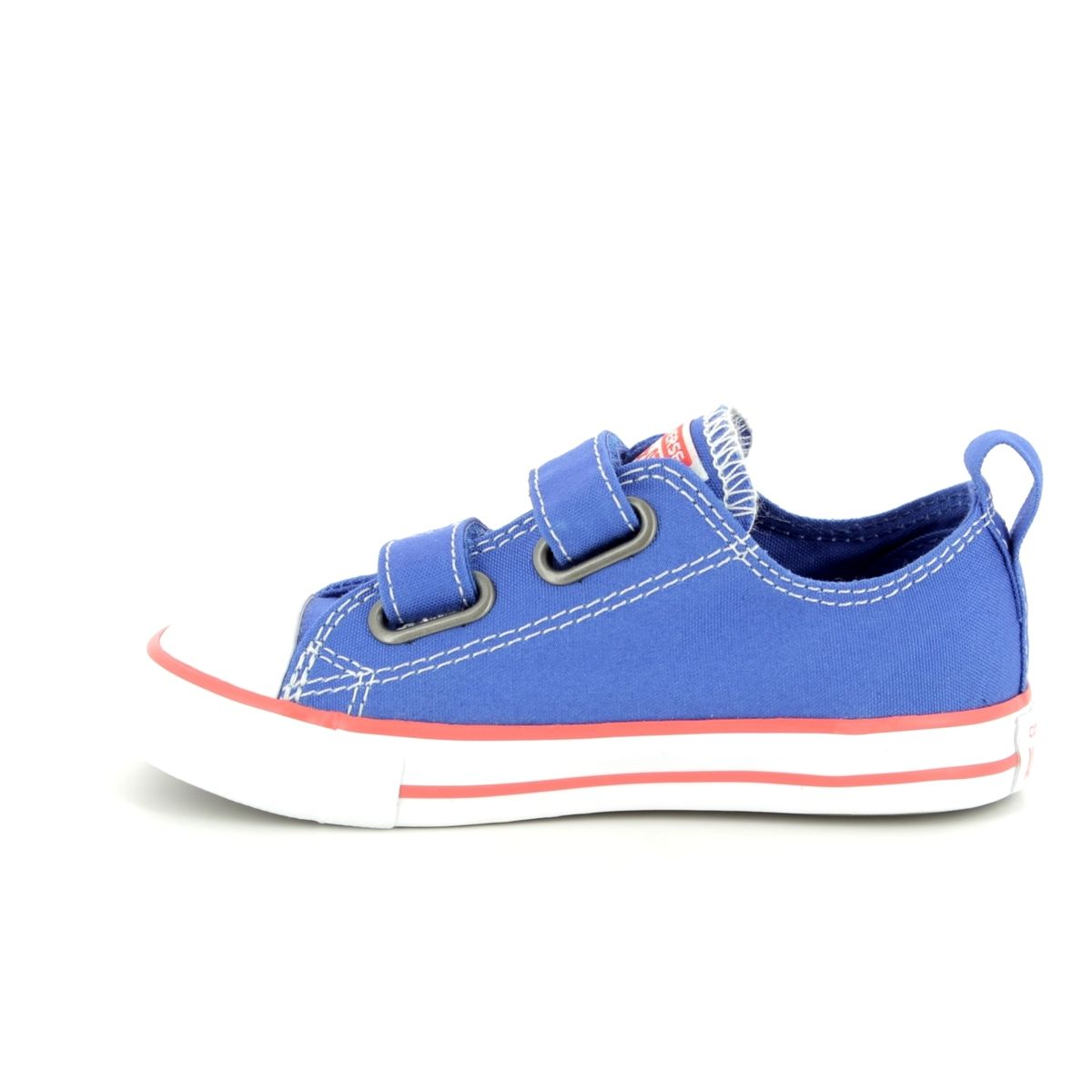 3c63aba92100 Converse All Star Ox Velcro Infants 760050C Blue Kids trainers