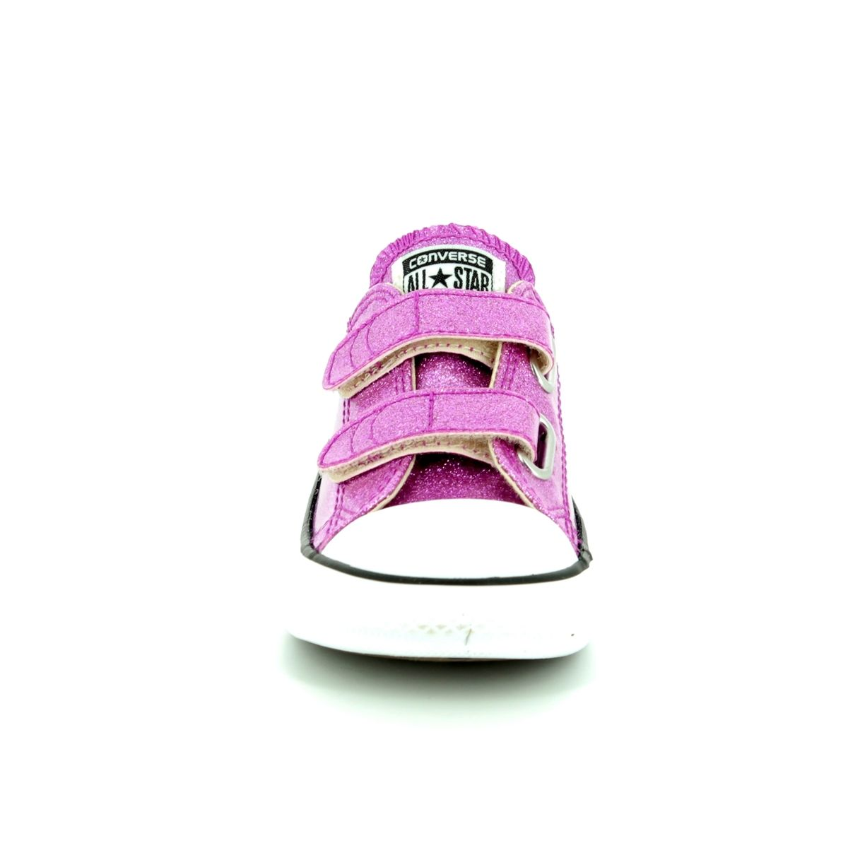 06d96620fb26 Converse All Star Ox Velcro Infants 760073C Pink Girls trainers